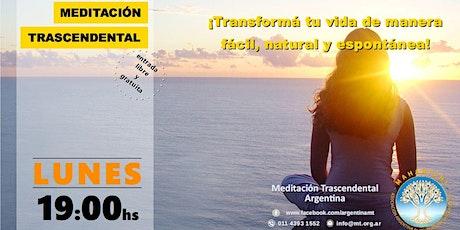 CABA, Lunes 19:00 horas - Charla Informativa sobre Meditación Trascendental tickets