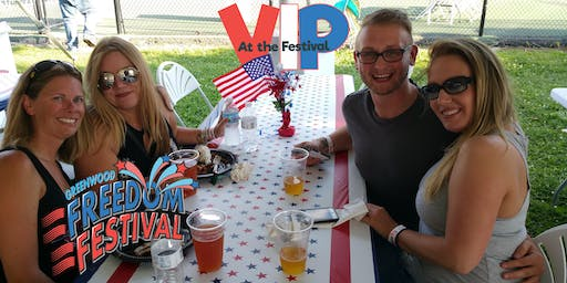 2019 VIP @ Freedom Festival ~ A catered space with an elevated view!