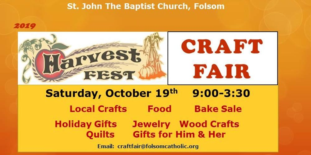 Harvest Fest Craft Fair Tickets Sat Oct 19 2019 At 9 00 Am