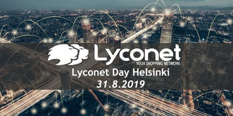 Lyconet Day Helsinki 31.8.2019 tickets
