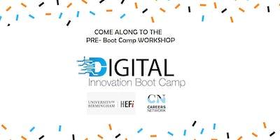 Pre-Boot Camp Workshop of DIBC2019