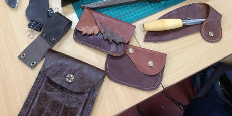 Copy of Make Your Own Leather Tool Sheath or wallet- An Introduction to Leather tickets