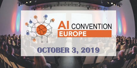 AI Convention Europe 2019 billets