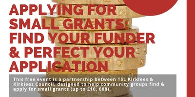 Third Sector Training: Applying for Small Grants