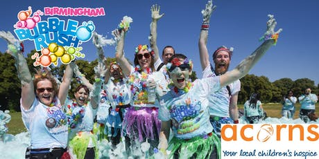 BUBBLE RUSH - BIRMINGHAM : FOAMY FAMILY 5K FUN RUN tickets