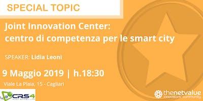 JOINT INNOVATION CENTER: centro di competenza per le smart city