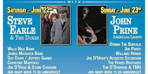 John Prine & Steve Earle Headline Rockland-Bergen Music Festival