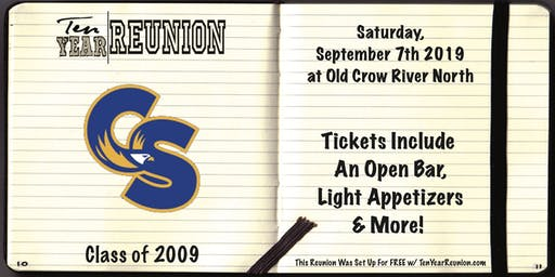 Carl Sandburg High School Class of 2009: Ten Year Reunion