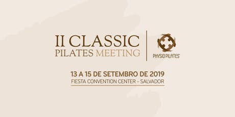 II Classic Pilates Meeting ingressos