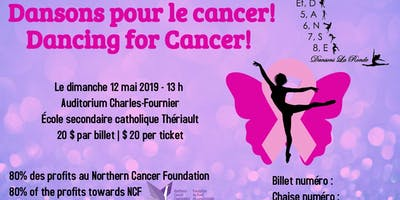 Dansons pour le cancer! Dancing for Cancer