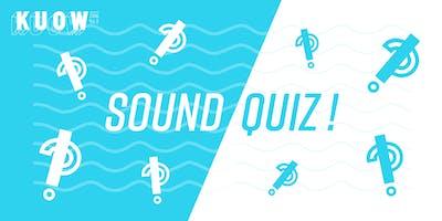Sound Quiz: Urban Wildlife in My Backyard