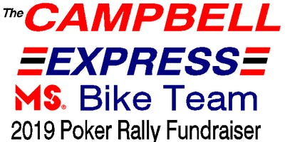 Campbell Express Poker Rally - in support of the MS Society