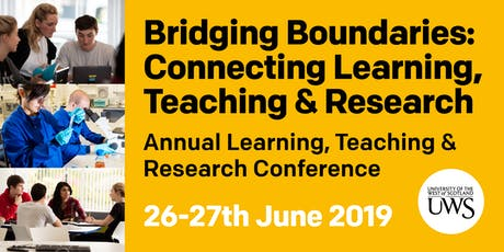 Bridging Boundaries: Connecting Learning, Teaching & Research - Staff link  tickets