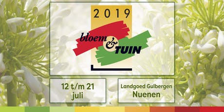 Bloem & Tuin, hét grootste en inspirerendste tuinevenement van Nederland tickets