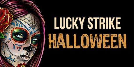 """Night Full of Fear"" Halloween at Lucky Strike Boston tickets"