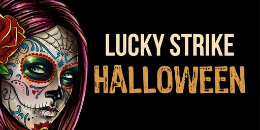 """Night Full of Fear"" Halloween at Lucky Strike Boston"