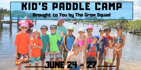 Kid's Stand Up Paddleboard Camp - Summer Session 3 tickets