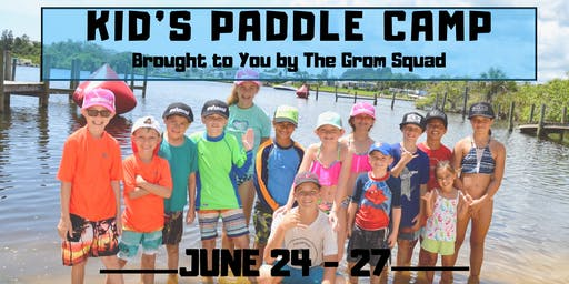 Kid's Stand Up Paddleboard Camp - Summer Session 3