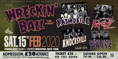 The Wrecking Ball - Psychobilly Extravaganza