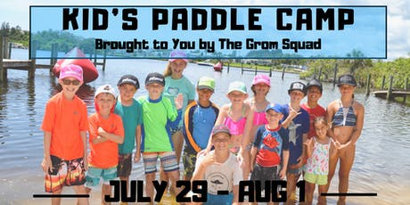 Kid's Stand Up Paddleboard Camp - Summer Session 4 tickets