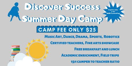 Discover Success Summer Day Camp tickets