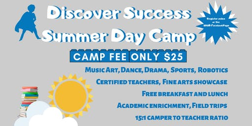 Discover Success Summer Day Camp