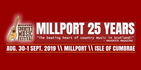 Millport Country Music Festival 2019 tickets