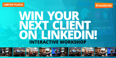 Win your next client on LinkedIn - LinkedIn for Sales - LONDON