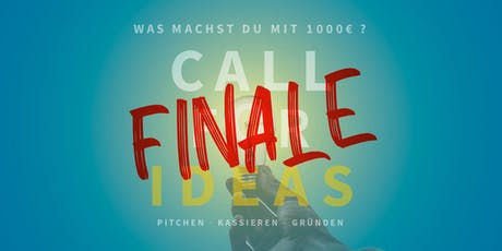 CALL FOR IDEAS 2019 - FINALE Tickets