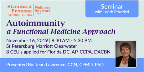 Functional Medicine Approach to Autoimmunity tickets