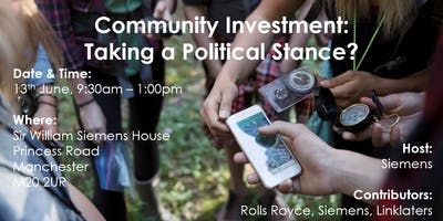 Community Investment: Taking a Political Stance?       LBG Mid Year Event