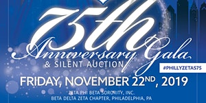Philly Zetas 75th Anniversary Gala & Silent Auction