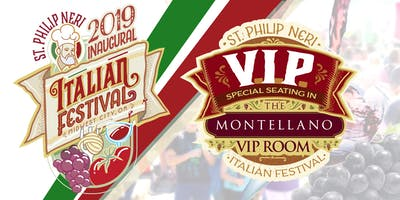 Italian Festival 2019 - VIP Seating from 3:00pm to 4:30pm