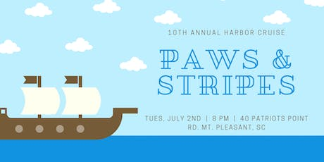 10th Annual Paws & Stripes Harbor Cruise tickets