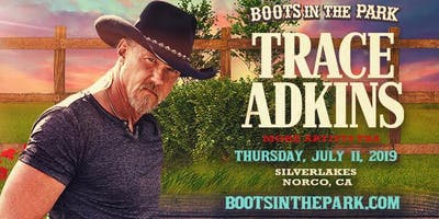 Boots in the Park - SilverLakes with Trace Adkins