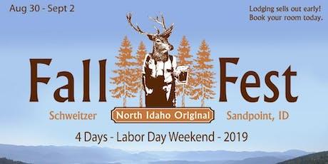 2019 Fall Fest Vendor Application tickets