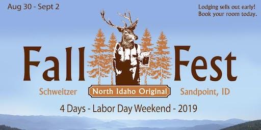 2019 Fall Fest Vendor Application