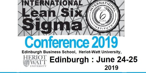 5th Annual International Lean Six Sigma Conference