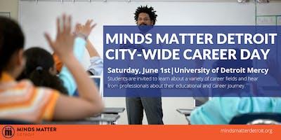 Minds Matter Detroit 2019 Citywide Career Day