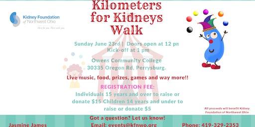 Kilometers for Kidneys Walk