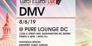 Coast 2 Coast LIVE Artist Showcase DMV - $50K Grand...