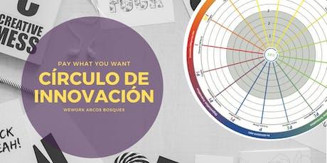 Círculo de Innovación ¡Tú decides lo que quieras pagar! entradas