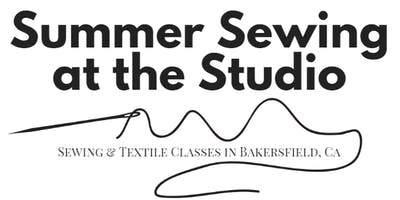 July 29th Summer Sewing at The Studio: 3 day camp