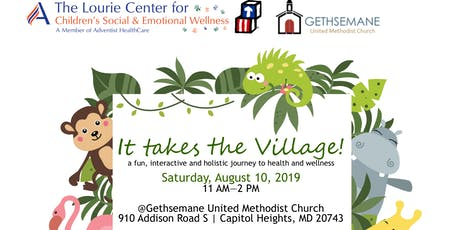 It Takes the Village! Community Health & Wellness Day--2019 tickets