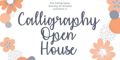 Calligraphy Open House