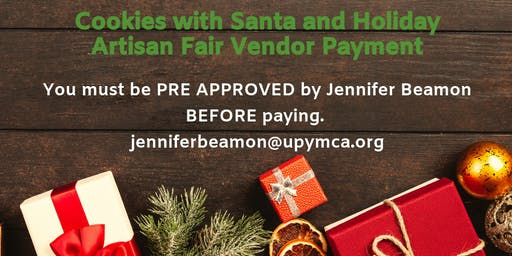 Cookies with Santa Craft and Artisan Payment