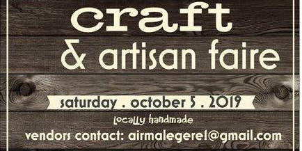 locally handmade - craft & artisan faire