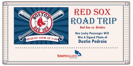 Red Sox Road Trip 2019 Augusta tickets