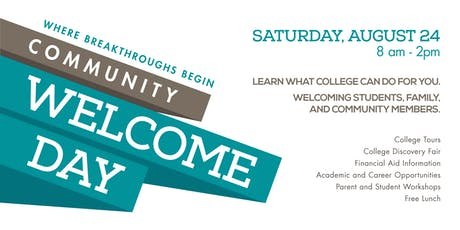 Moreno Valley College Community Welcome Day '19 tickets