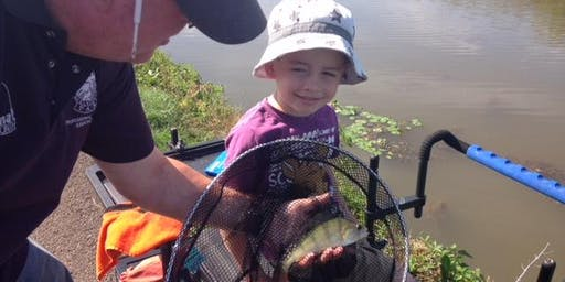 Free Let's Fish! Learn to fish sessions at Rugeley